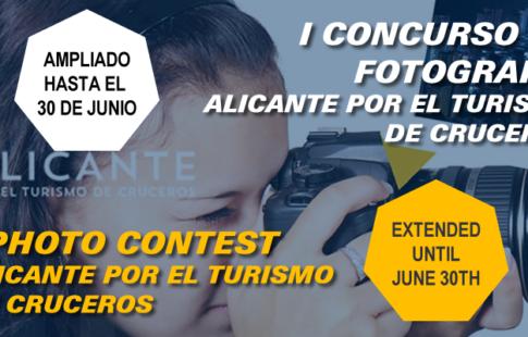 Ampliación del plazo del Concurso de Fotografía Asociación Alicante por el Turismo de Cruceros