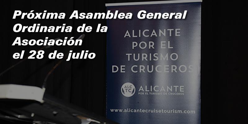 Convocatoria de la Asamblea General Ordinaria de la Asociación