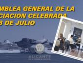 Asamblea General Ordinaria de la Asociación del 28 de julio