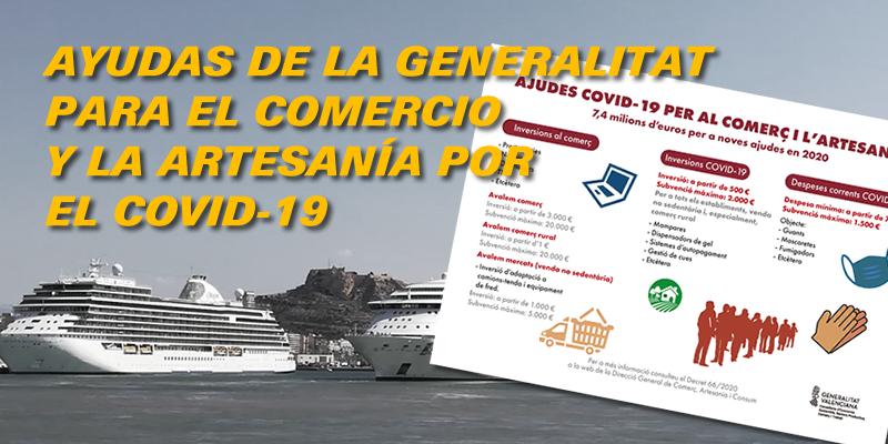 Ayudas de la Generalitat para el comercio y la artesanía