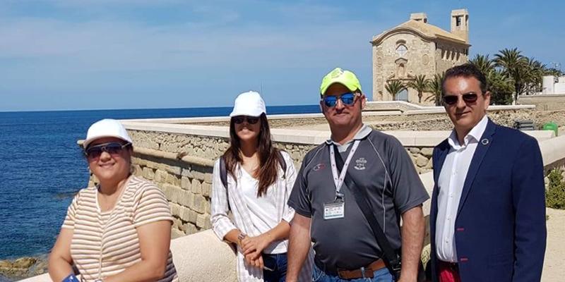 Crystal Cruises visita Tabarca como posible destino de sus excursiones