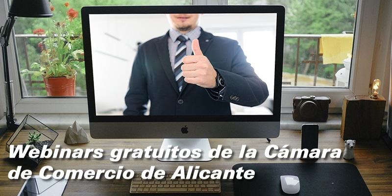 Webinars de la Cámara de Comercio de Alicante