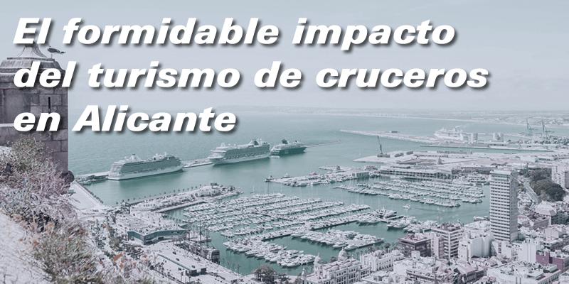 El formidable impacto económico del Turismo de Cruceros en Alicante Costa Blanca.