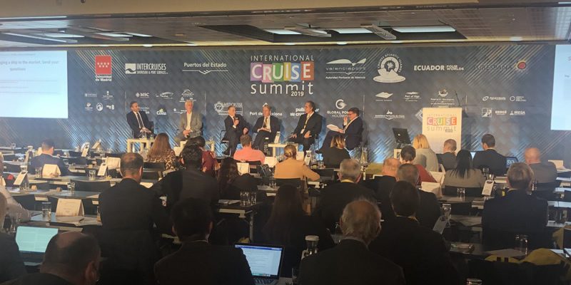 Alicante por el Turismo de Cruceros en el International Cruise Summit 2019 en Madrid
