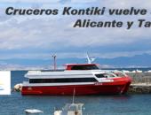 Cruceros Kontiki reanuda su actividad entre Alicante y Tabarca