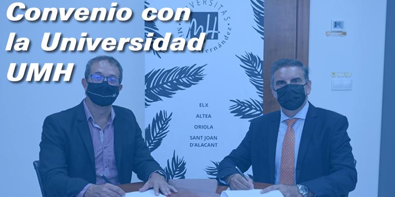 Colaboración con la Universidad Miguel Hernández