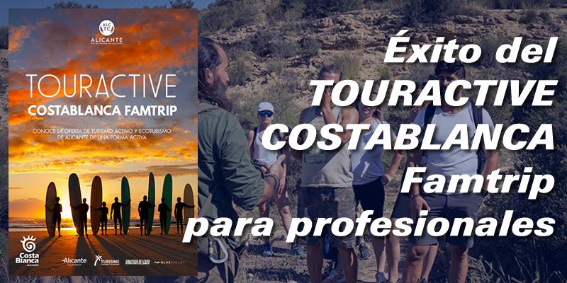 Resumen del TOURACTIVE, Costa Blanca Famtrip