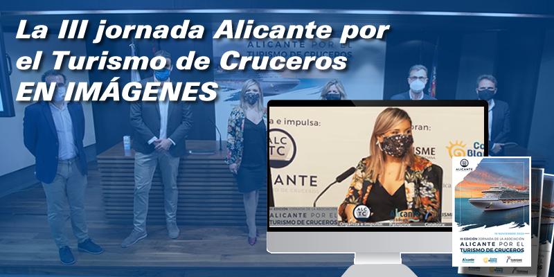 """La III Jornada """"Alicante por el Turismo de Cruceros"""" en imágenes"""