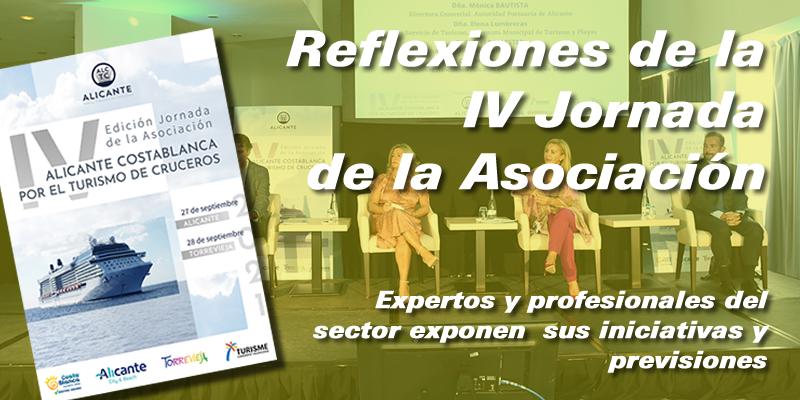 Reflexiones de la IV Jornada Alicante Costablanca por el Turismo de Cruceros