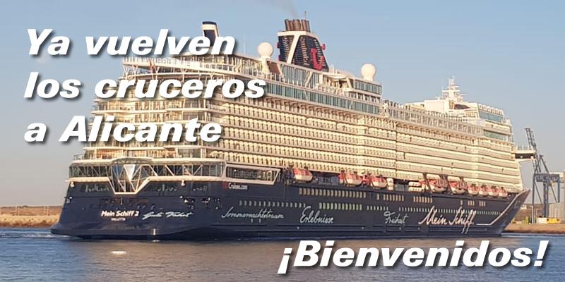 Ya vuelven los cruceros a Alicante
