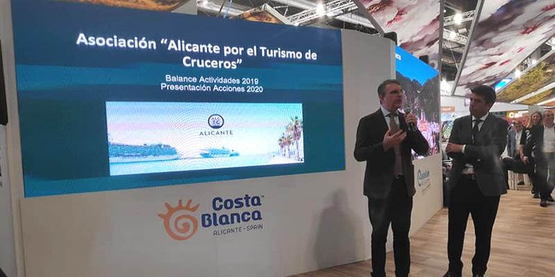 La Asociación Alicante por el Turismo de Cruceros, presente en Fitur 2020