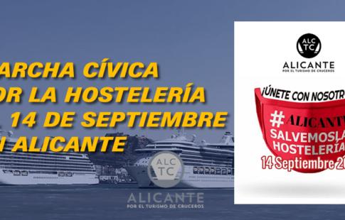 Marcha Cívica por la Hostelería el 14 de septiembre
