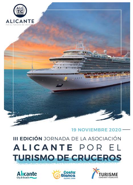 Anuncio III Jornada Alicante Turismo Cruceros