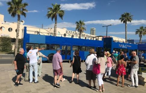 Servicio de Turibus Panorámico para cruceristas