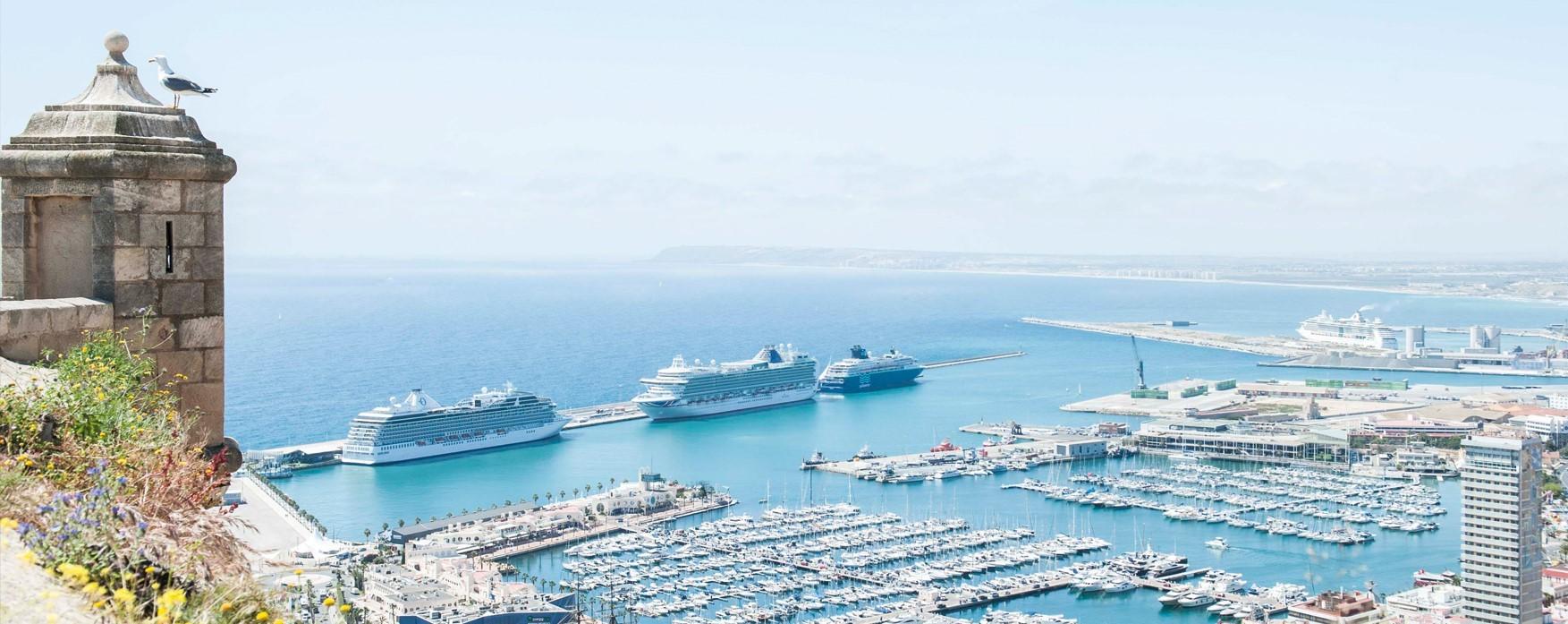Comienza la temporada de cruceros en Alicante, casi 50 escalas confirmadas